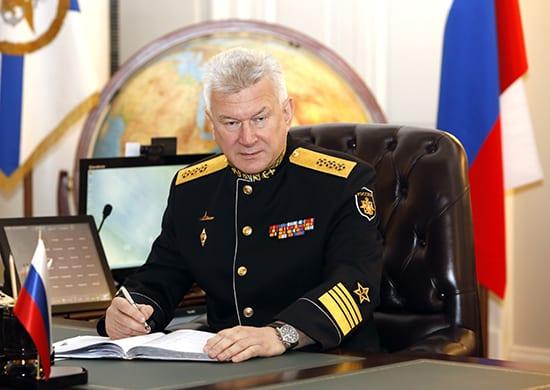 Главком ВМФ России адмирал Николай Евменов
