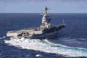 авианосец USS Gerald R. Ford (CVN 78)