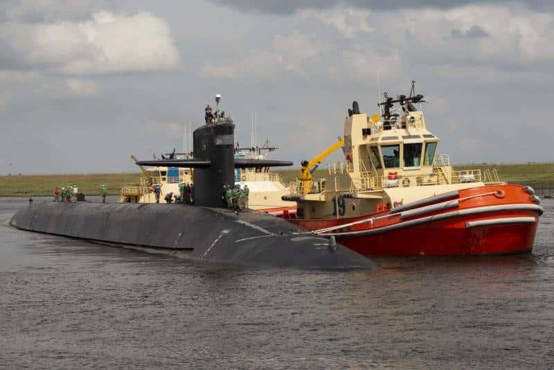 атомные стратегические субмарины класса Огайо