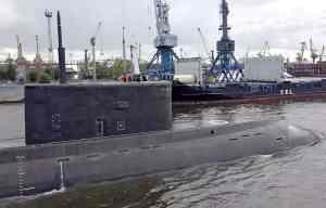 головная подлодка «Санкт-Петербург» проекта 677 «Лада»