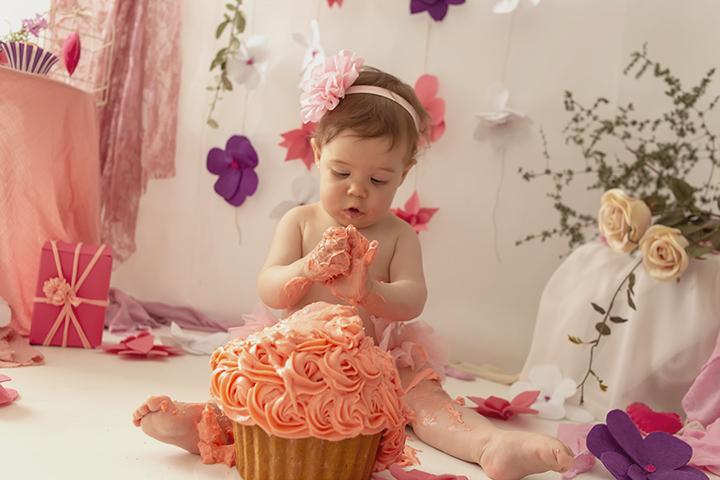 smash cake sesión
