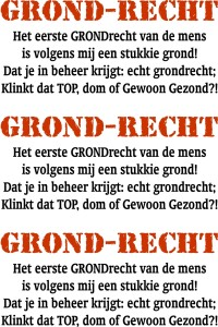 GRONDRECHT