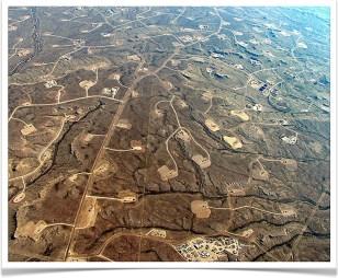 Schaliegas ravage in Wyoming