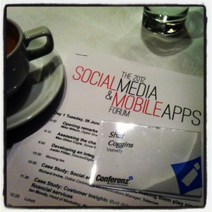 Vervely and Shai Coggins at 2012 Social Media and Mobile Apps Forum