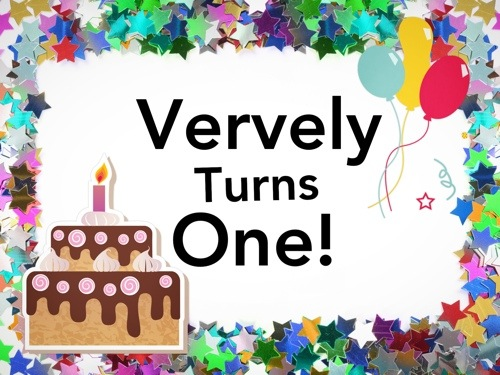 Vervely Turns One!