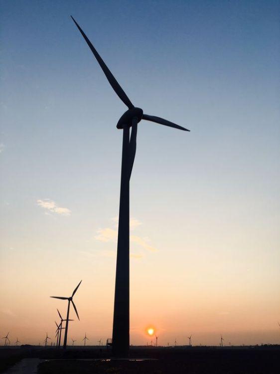 Enercon windturbine. Foto: Harry Schreuder