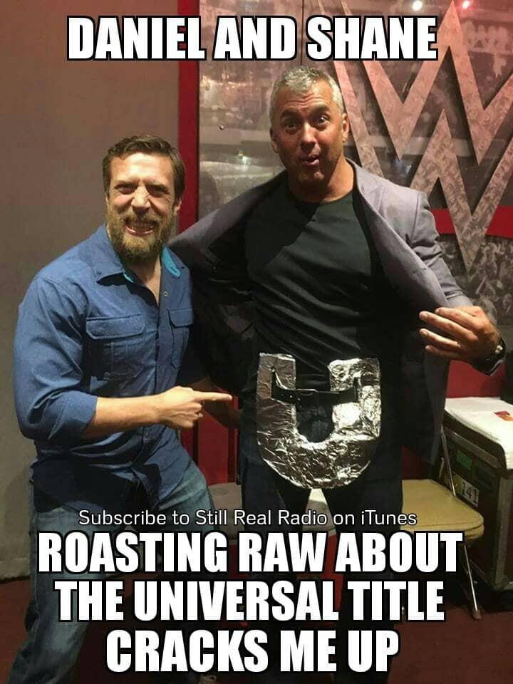 Daniel Bryan y Shane McMahon