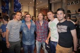 Carlos Gurpegui, Carlos Achútegui, Jesús Ferrer, Óscar de Marcos, Ismael Lópezr