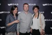 Marta Bernabé de GAS, Bruno Foraster de Very Bilbao y la triatleta Virginia Berasategui