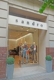 Sandro, calle Elcano 13, Bilbao.
