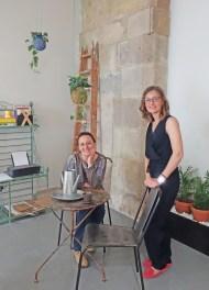 Elene e Inés Uribarren en Kënsla Bilbao