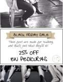 Miss Puppet 25% dto. en pedicuras, y descuentos y regalos a partir de 100€ de compras.