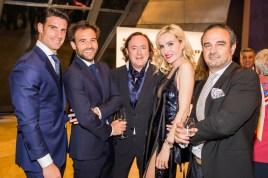 Aitor Ocio, Iñaki Orozco, Tomás Alia, Clara Courel y Lorenzo Castillo