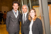 Juan Avellaneda, Zaim Kamal y Celia González