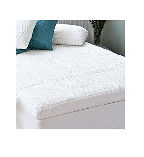 The 4 Inch Memory Foam Topper Is Made With 2 Inches Of And 1 5 Pressure Relieving Comfort Double Layers Minimize