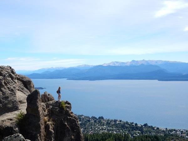 Uitzicht vanaf Cerro Otto