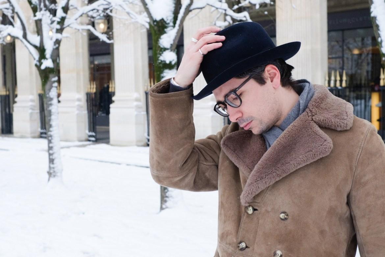 chapeau chaud pour temps froid homme