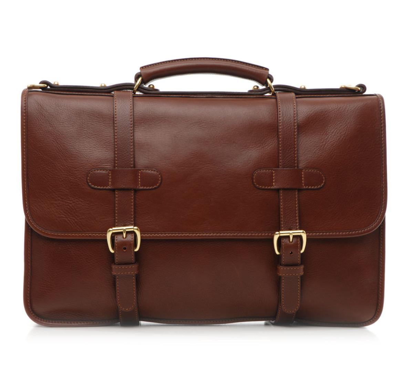 Lotuff English Briefcase Chestnut