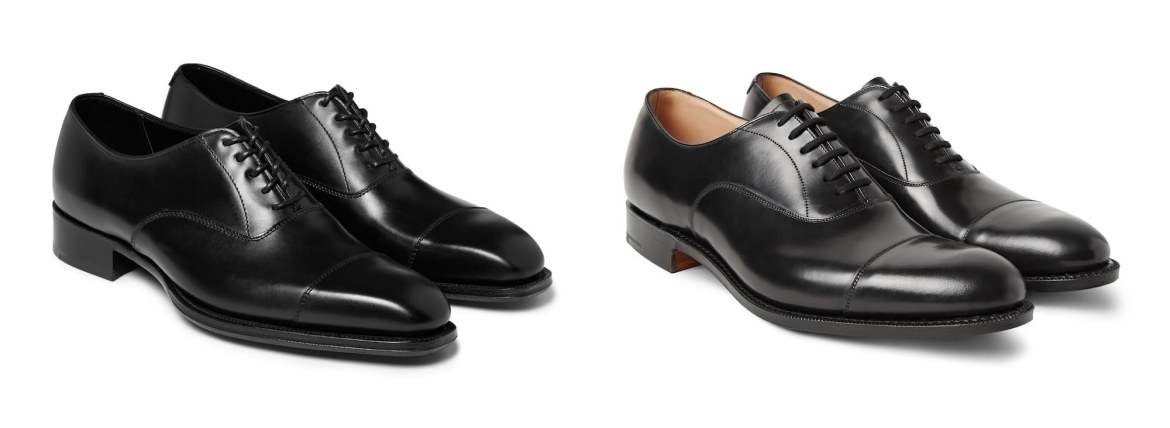 chaussures noires homme