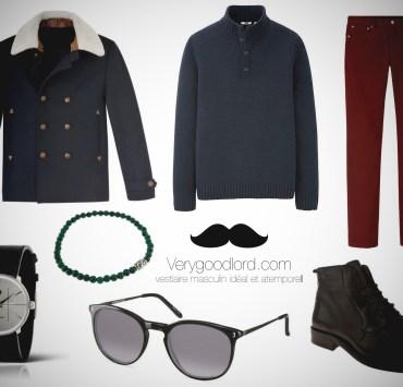 look mode homme ville classique