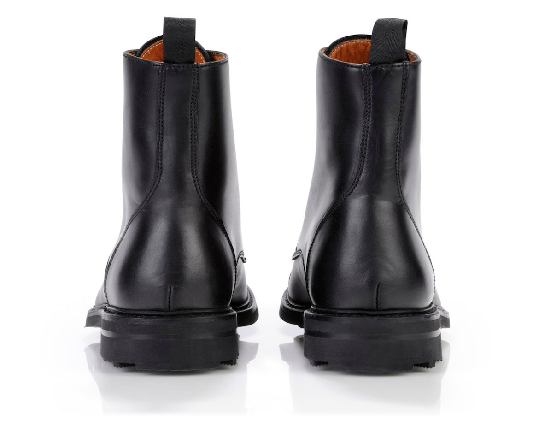 boots hiver homme noir pas cher Enfield_Noir_Arriere
