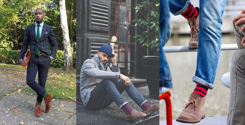 comment assortir couleur chaussette pantalon décontracté