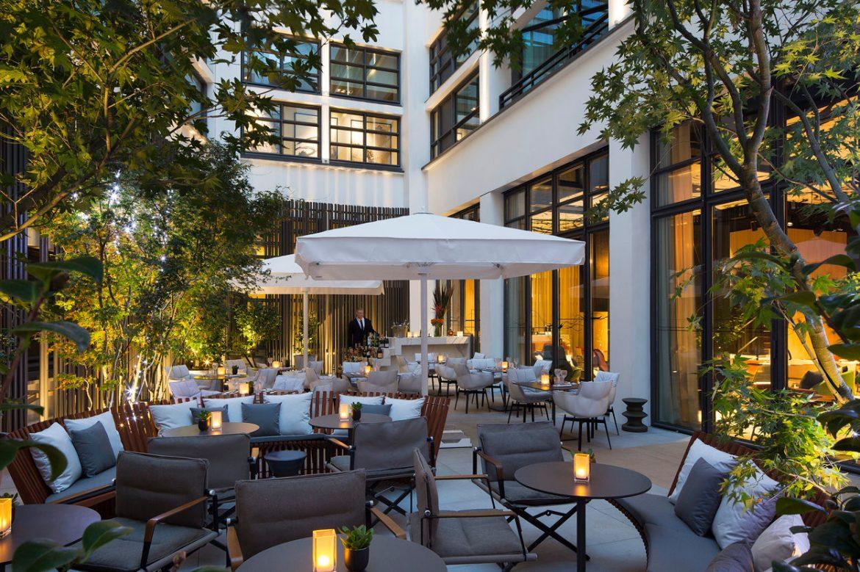hotel 5 codet terrasse patio