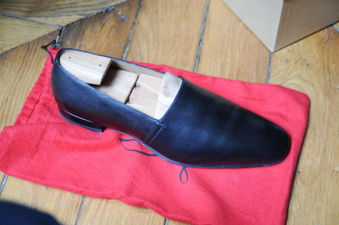 louboutin homme mocassin