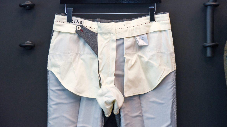poche avant bernard zins pantalon doublé