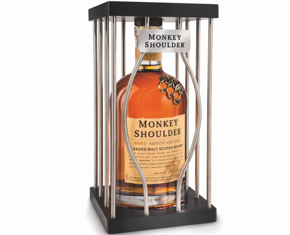 Monkey Shoulder coffret de Noâl - 23,50 euros