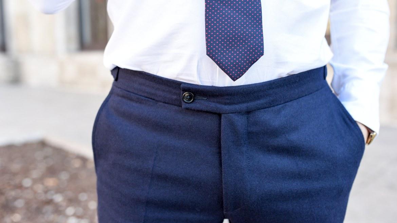pantalon costume homme sans ceinture