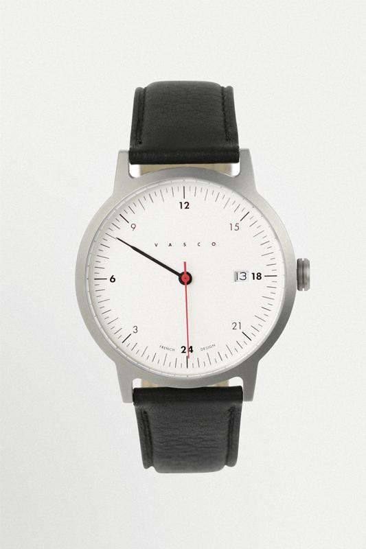 indomptable montre vasco noir