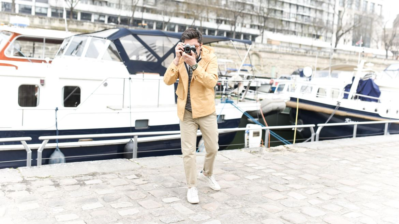 look marin homme photographe