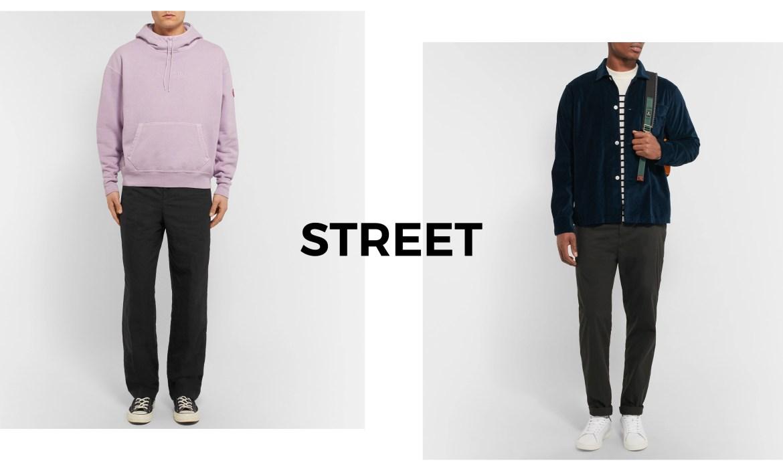 look street homme