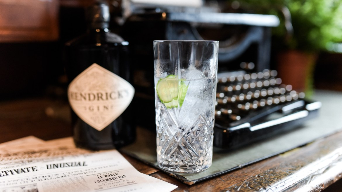 gin tonic recette