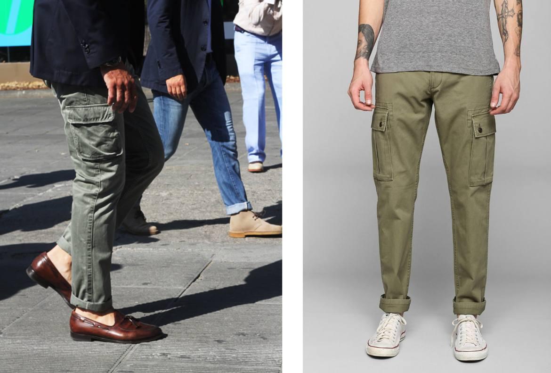 longueur pantalon cargo homme