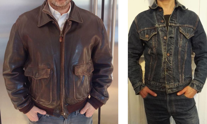 veste cuir homme leboncoin