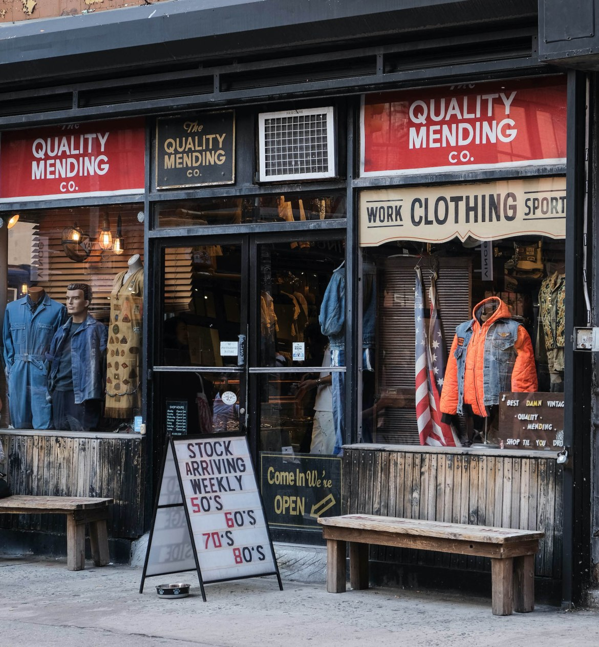 boutique the quality mending new york