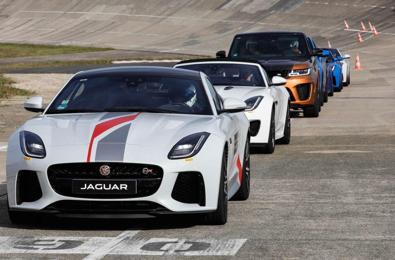 essai jaguar sur circuit