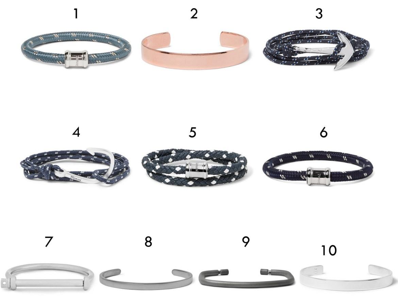 bracelets en soldes chez MrPorter