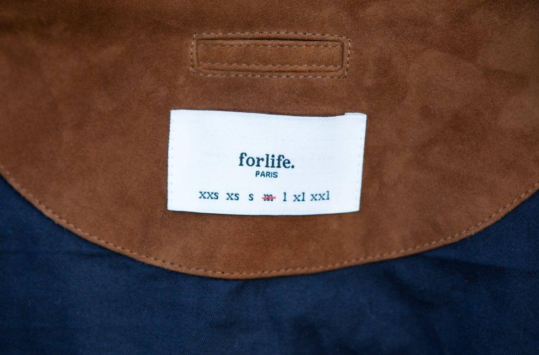 étiquette branding intérieur forlife