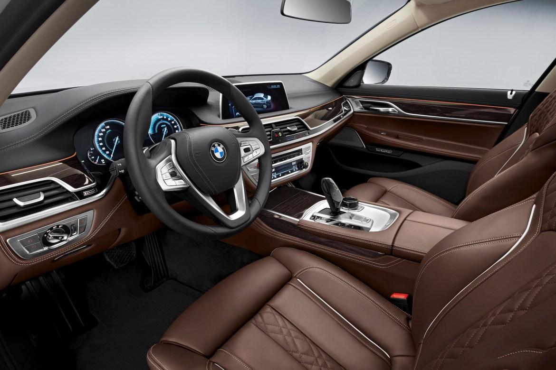 intérieur BMW 740e iPerformance
