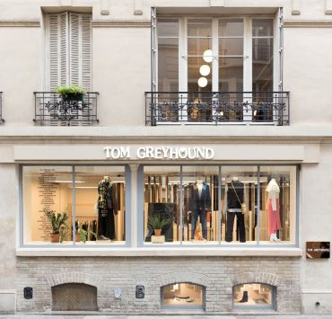 TomGreyhound Boutique paris facade