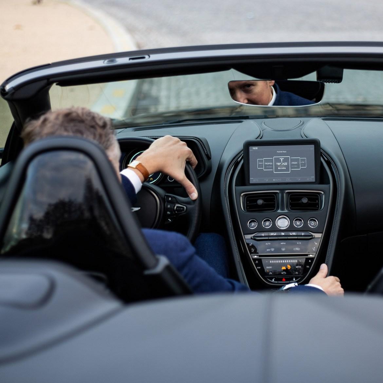 Intérieur Aston Martin DB11