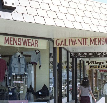 devanture magasin vintage