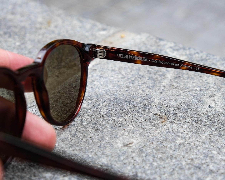 charnieres lunettes de soleil atelier particulier