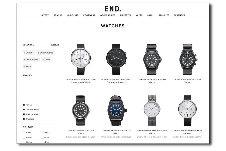 Acheter montres sur End Clothing