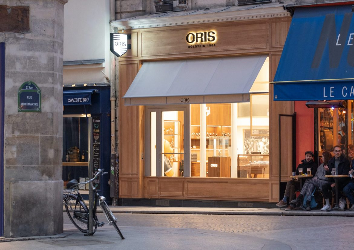 boutique oris Paris