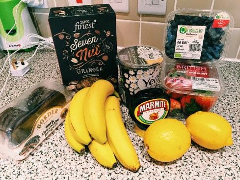 My favorite things from British Grocery stores.