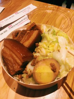 Pork Belly Bento from Taiwan Bear House in New York City